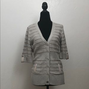 WHBM Sweater Cardigan